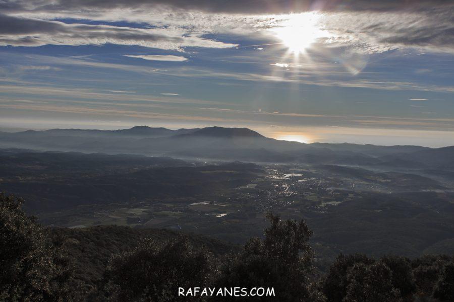 Ruta: Turó de Samon (1.273 m) (Els 100 Cims)