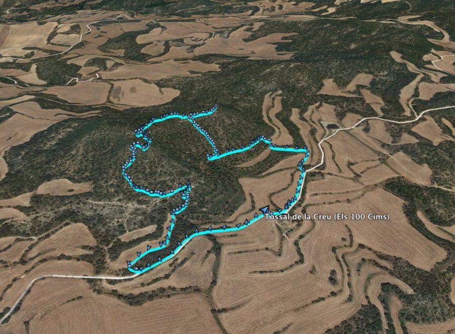 Ruta: Tossal de la Creu (658 m) (Els 100 Cims)