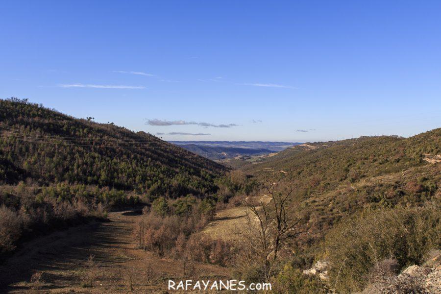 Ruta: Serra de Pinós (928 m) (Els 100 Cims)