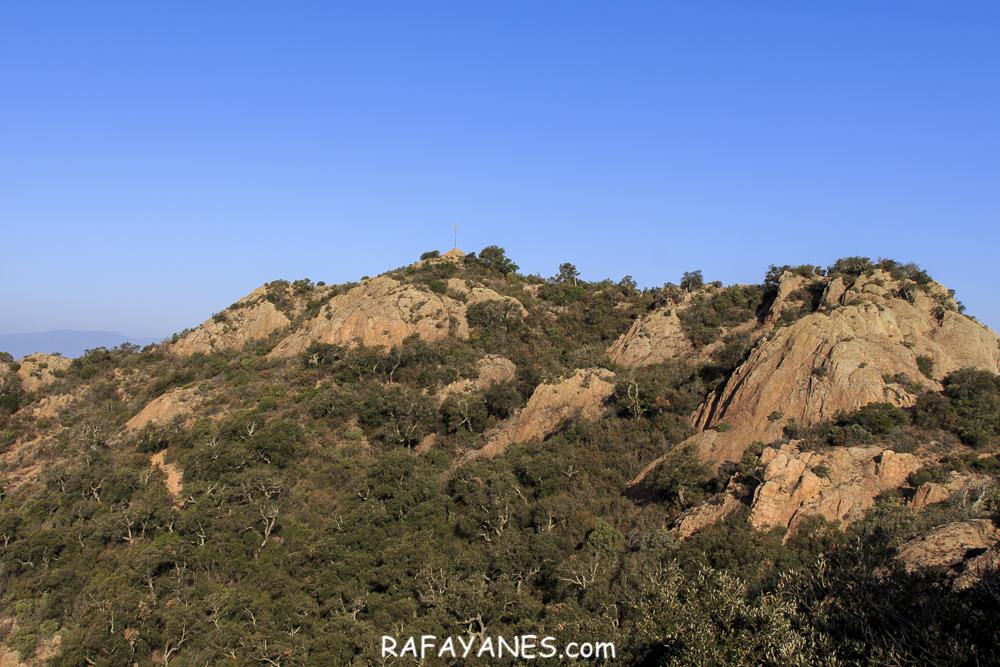 Ruta: Montclar ( 401 m) y Puig Gros ( 325 m) (Els 100 Cims)