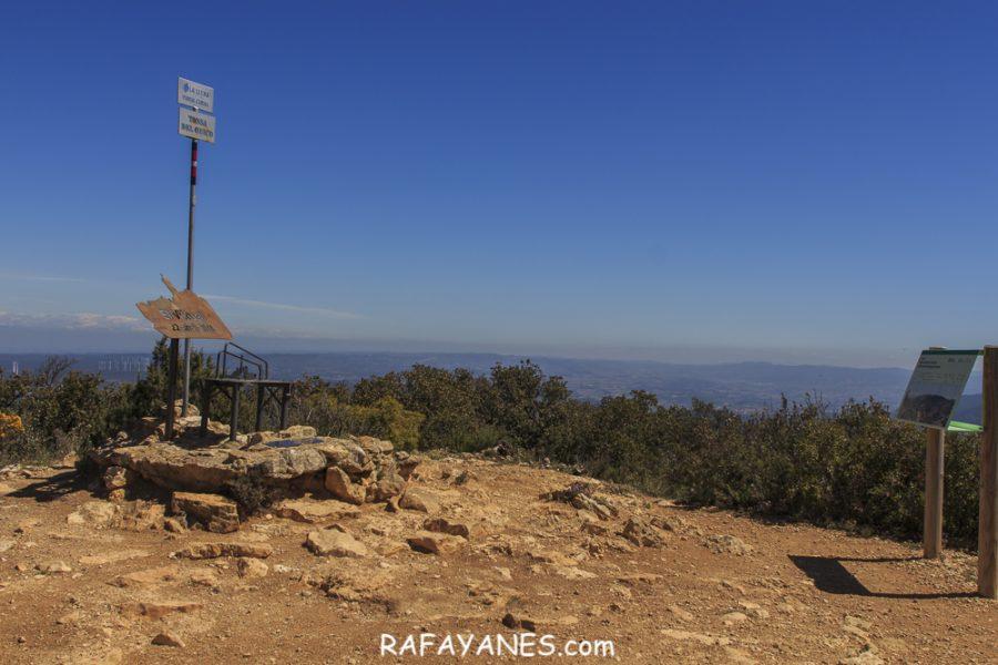 Ruta: Punta del Curull (1.002 m.) (Els 100 Cims)