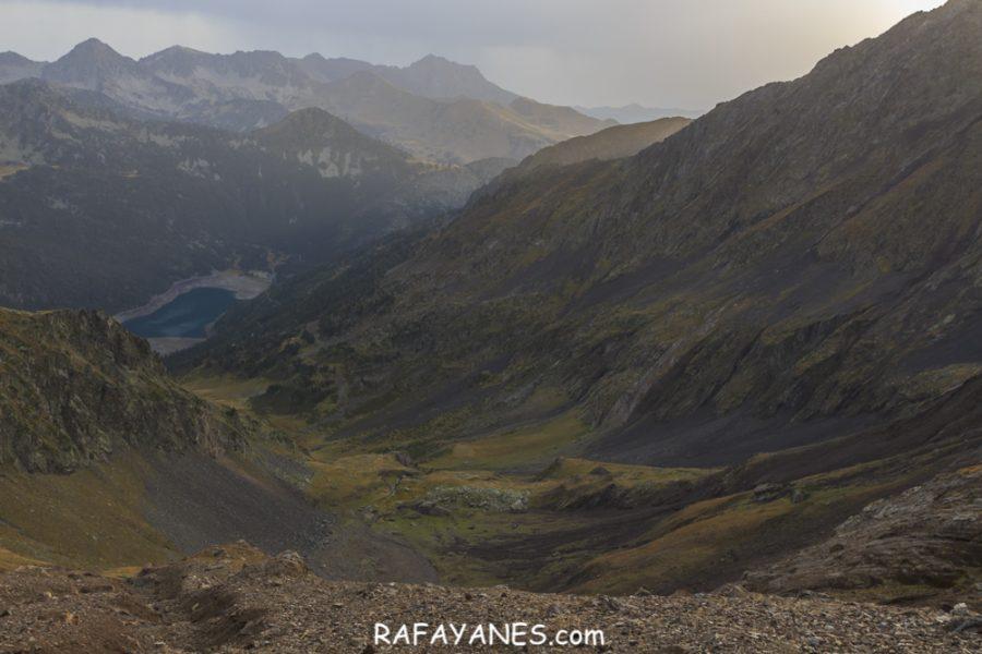 Ruta: Pic d'Estaragne (3.006 m.), Pic de Campbieil (3.173 m.) y Pic de Lentilla (3.157 m.)