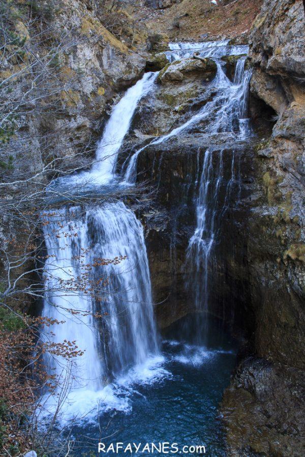 Ruta: Cola de Caballo en invierno (Huesca)
