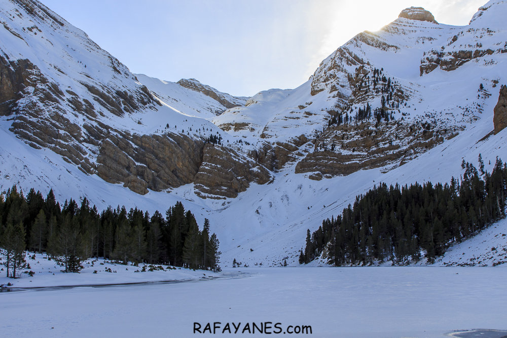 Ruta: Ibon de Plan (o Basa de la Mora) nevado (Huesca)