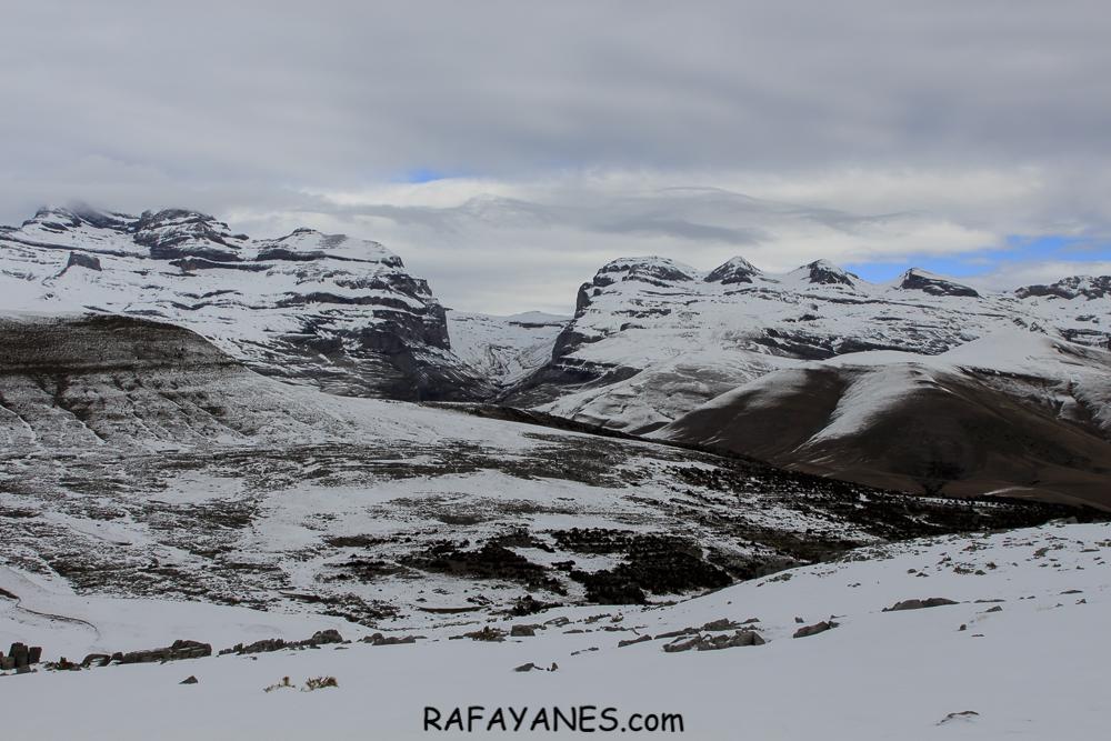 Ruta: El Mondoto nevado (1.962 m.) (Huesca)