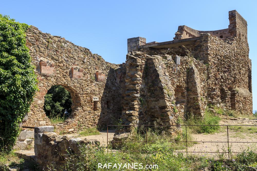 Ruta: Castell de Sant Miquel ( 385 m.) (Els 100 Cims)
